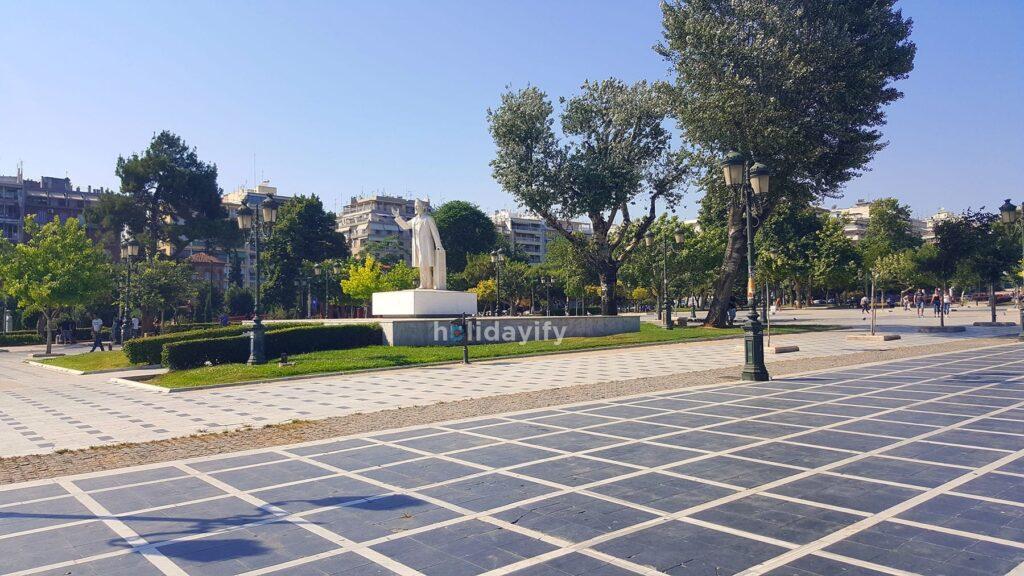 Statue of Eleftherios Venizelos, Thessaloniki, Greece