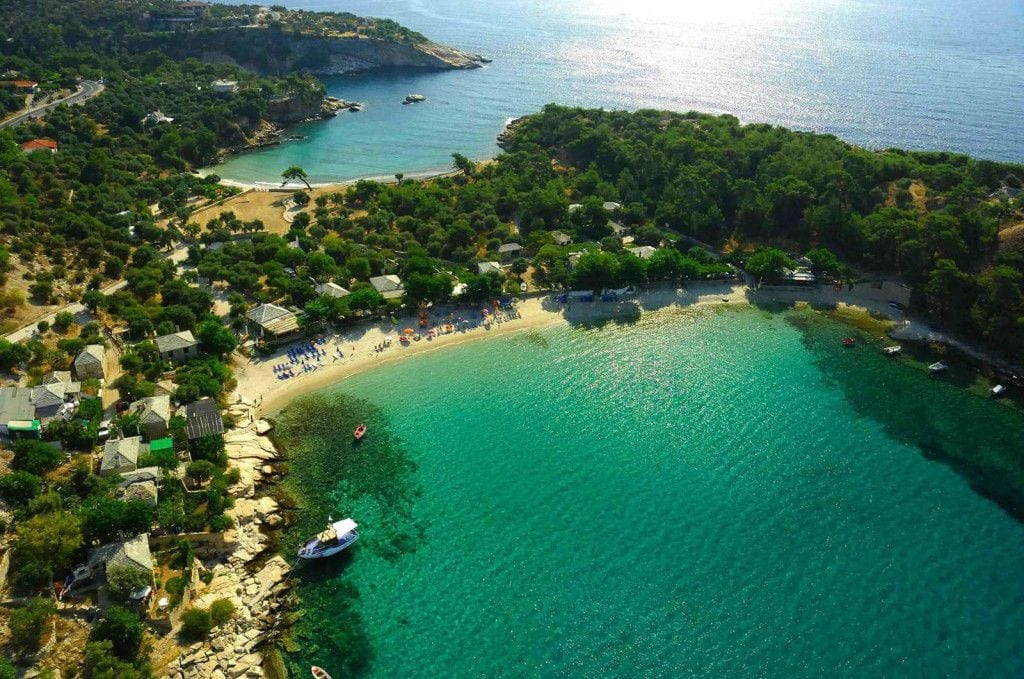 Aliki Plajı, Thassos