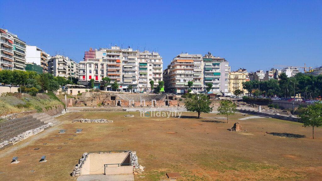 The Greek Agora and Roman Forum, Thessaloniki, Greece