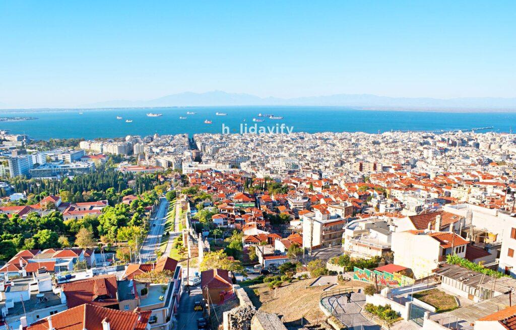 The Upper Town Thessaloniki