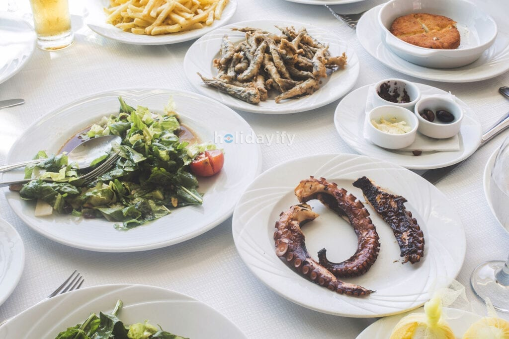 Traditional Greek foods