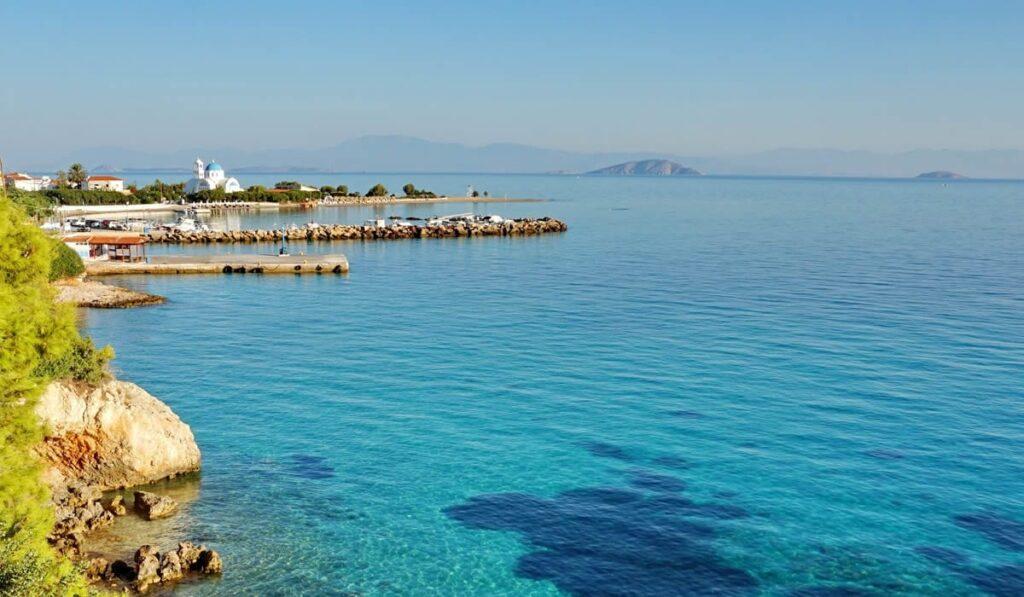 Skala Beach, Agistri Island, Greece