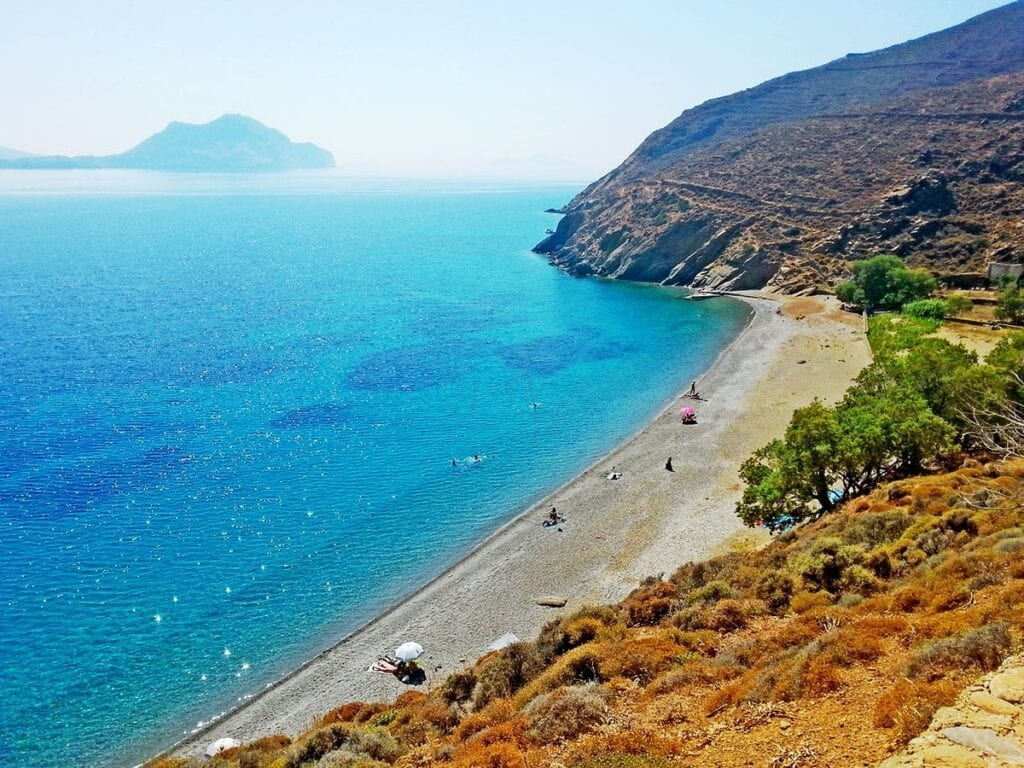 Beaches of Amorgos Island, Greece