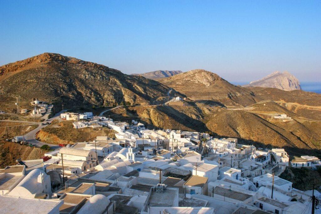 Chora, Anafi island, Greece