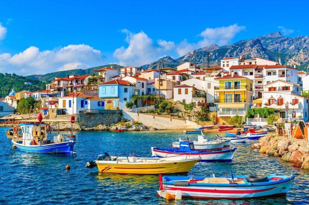 Villages of Samos Island