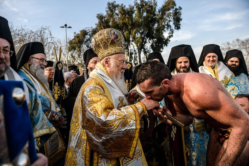 Greece Epiphany day