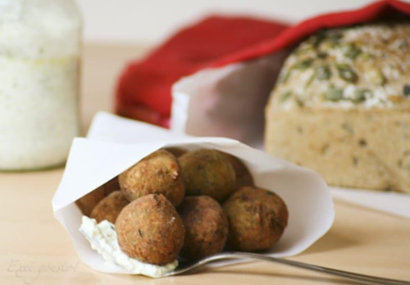 Courgette Balls - Greek Foods