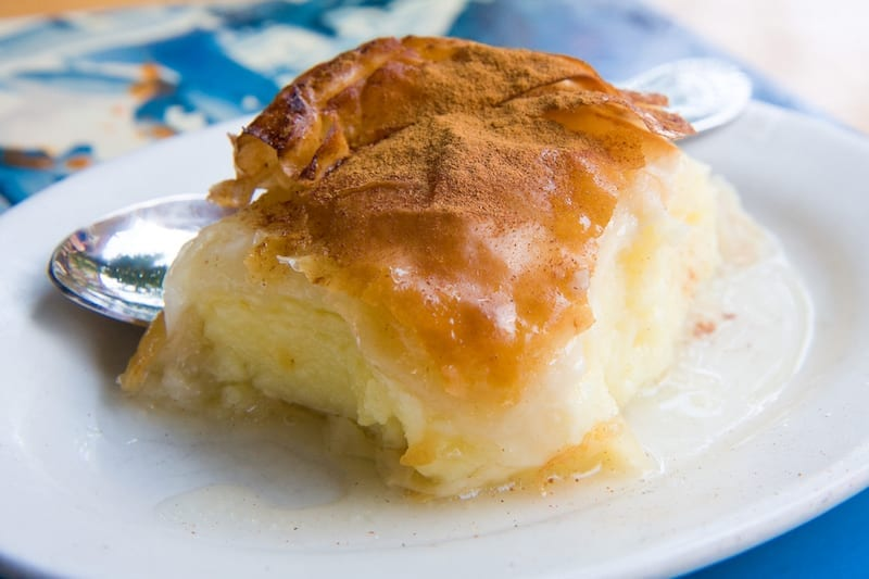 Galaktoboureko (Sütlü Börek) - Yunan Tatlıları