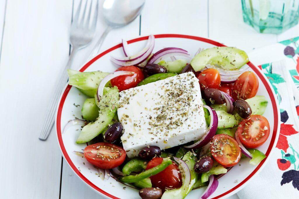 Greek Salad - Greek Foods