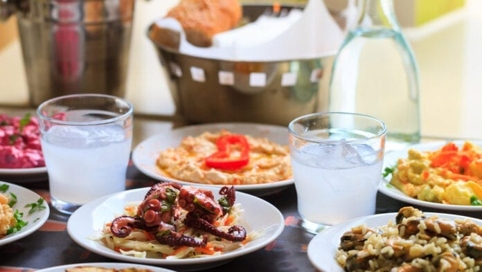 Greek Foods and Best Places to Eat in Rhodes Island