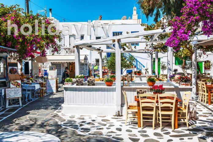Mykonos Restaurants with a View