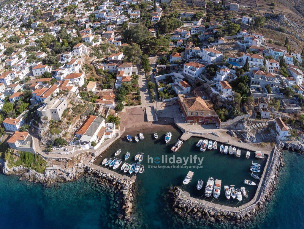 Kamini village, Hydra, Greece