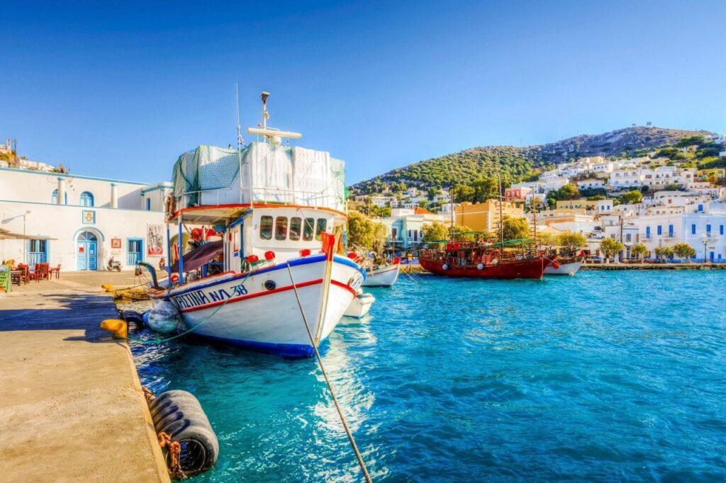 Leros Port, Greece