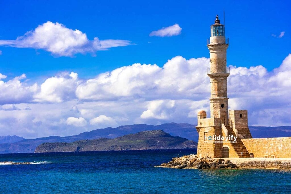 Lighthouse, Chania, Crete