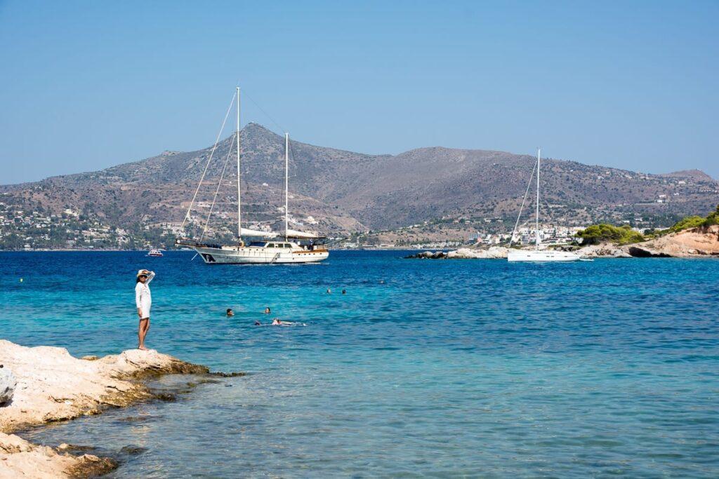 Moni Islet, Aegina Island, Greece