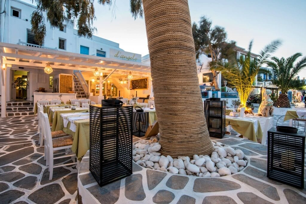 D'Angelo, Best Restaurants in Mykonos Town