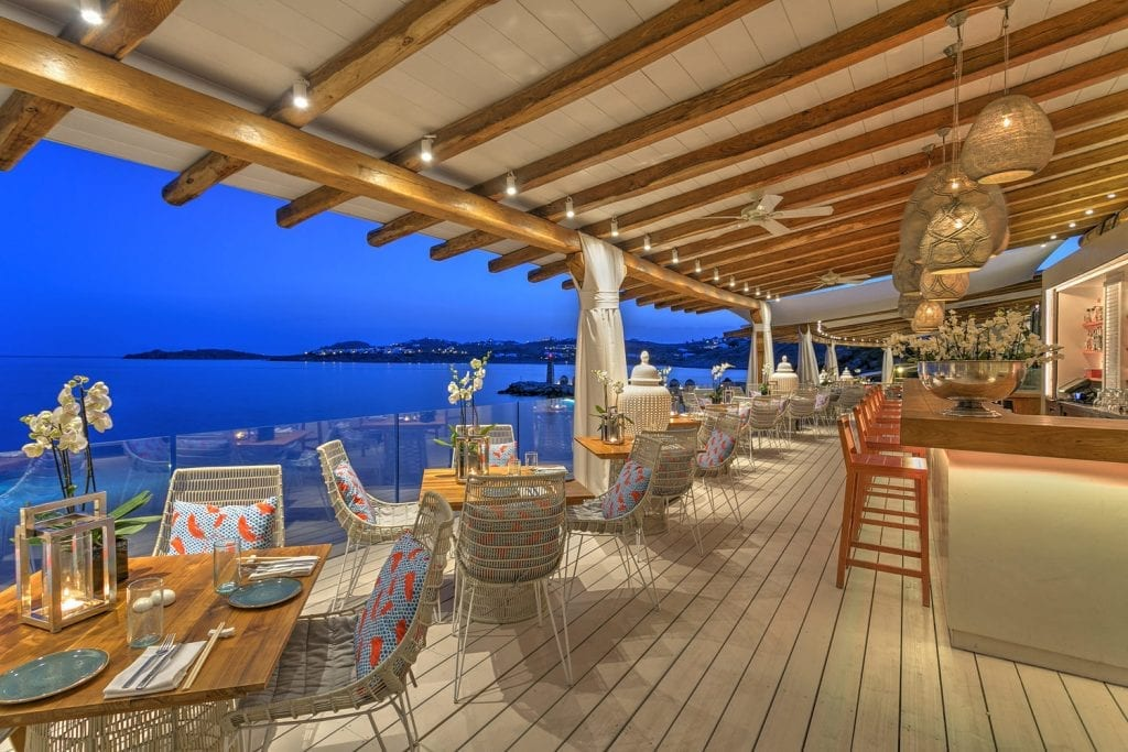Buddha Bar Beach, Best Restaurants in Mykonos Town