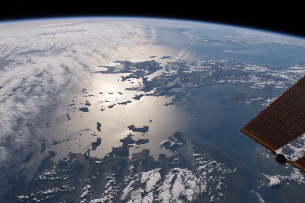 Cyclades Islands: NASA View