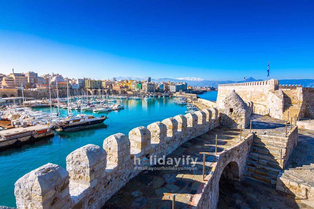 Venetian fort Koule, Crete