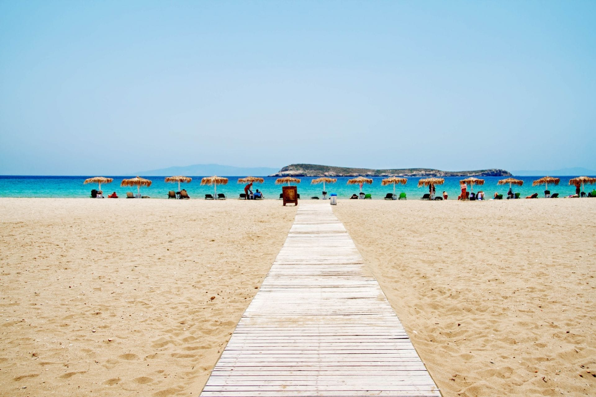 Golden Beach, Paros Island, Greece