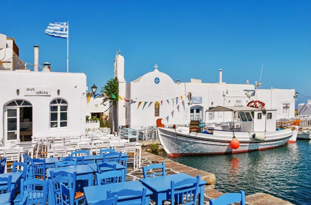 Eat, Drink in Paros