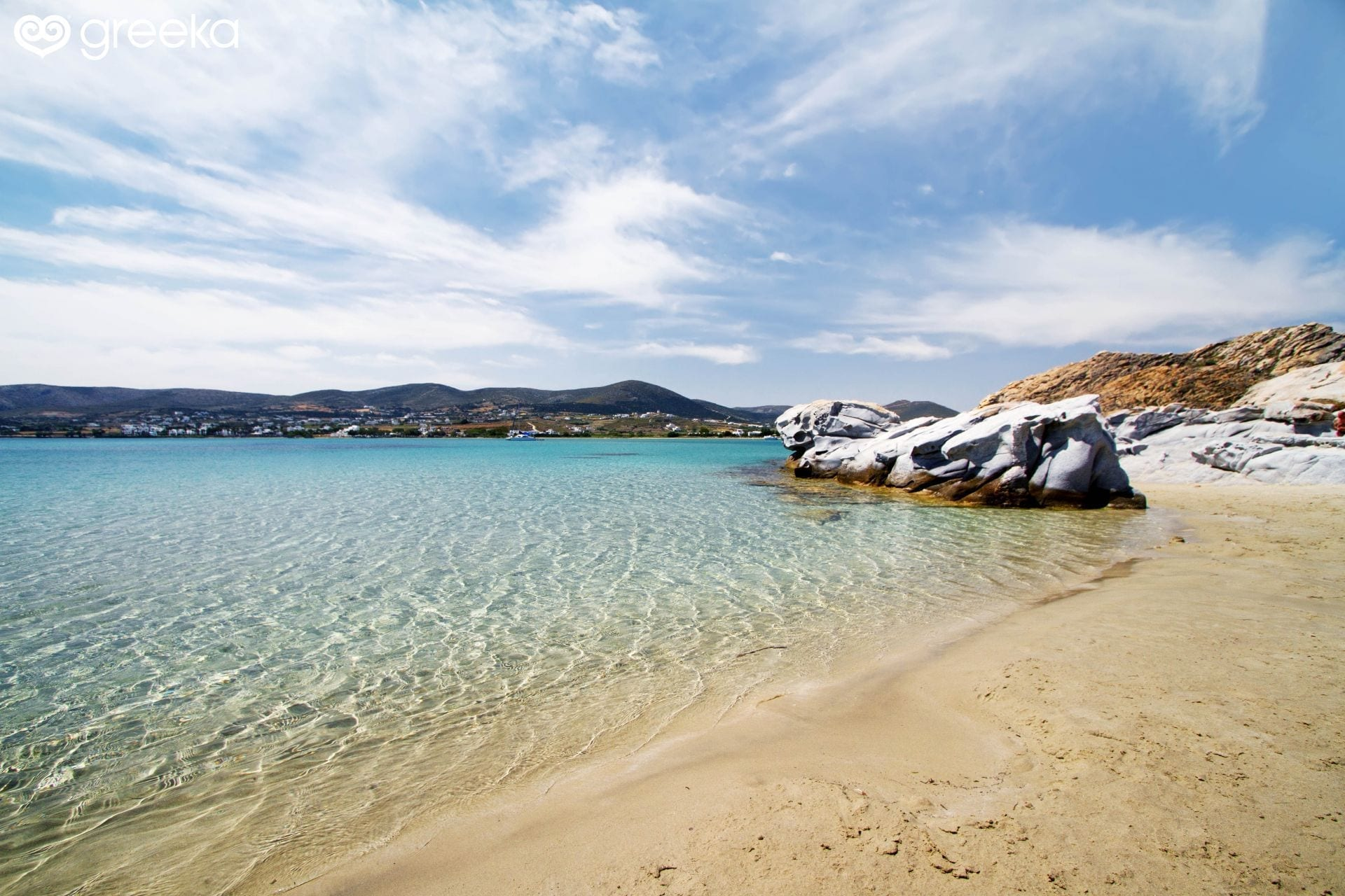 Kolymbithres Beach, Paros Island, Greece