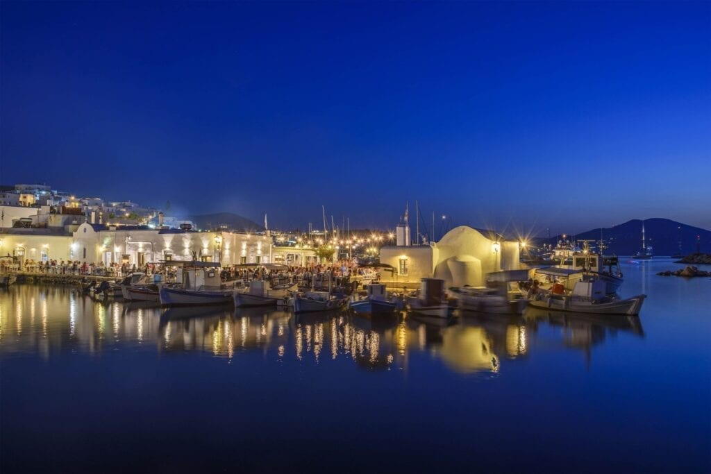 Nightlife in Paros
