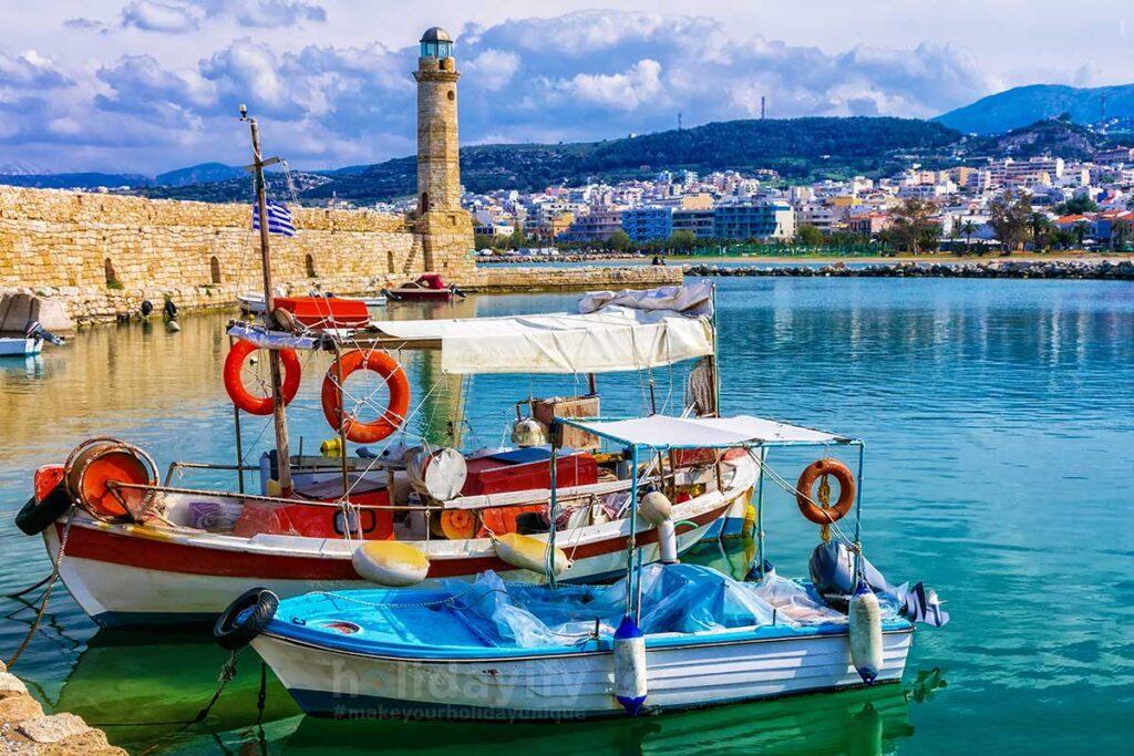 Rethymno Region in Crete