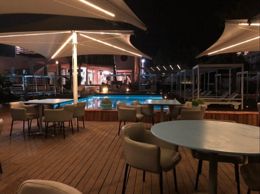 Rhodes Akti Ixia Bar Restaurant
