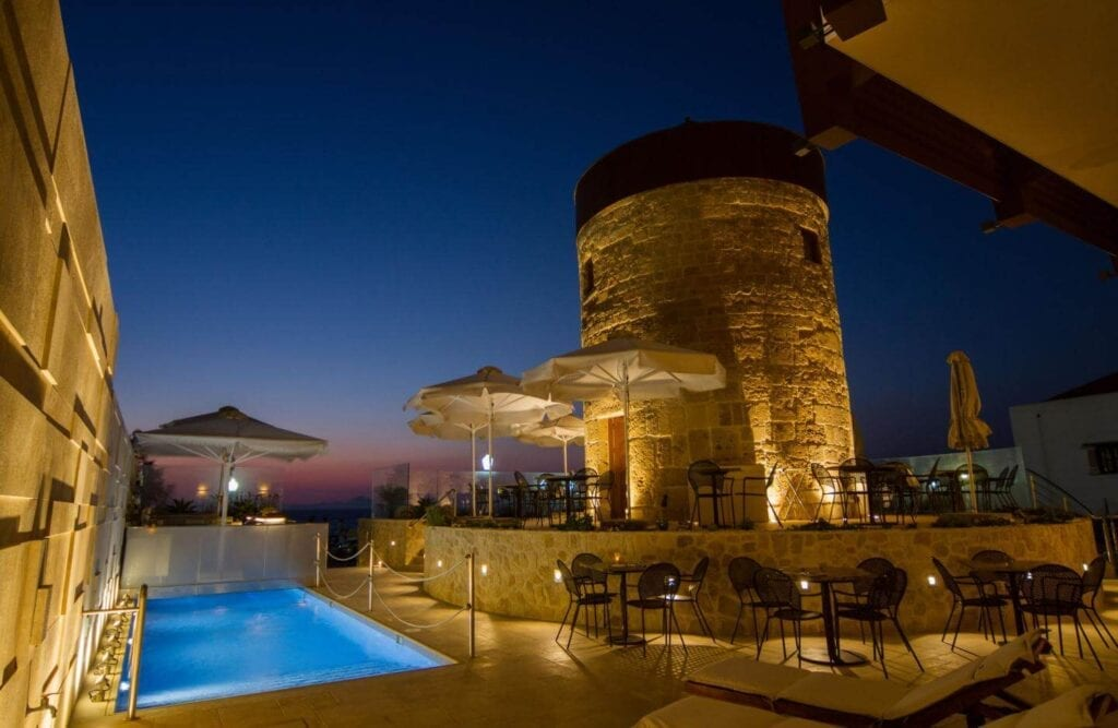Bellevue Suites, Rhodes Hotels, Greece