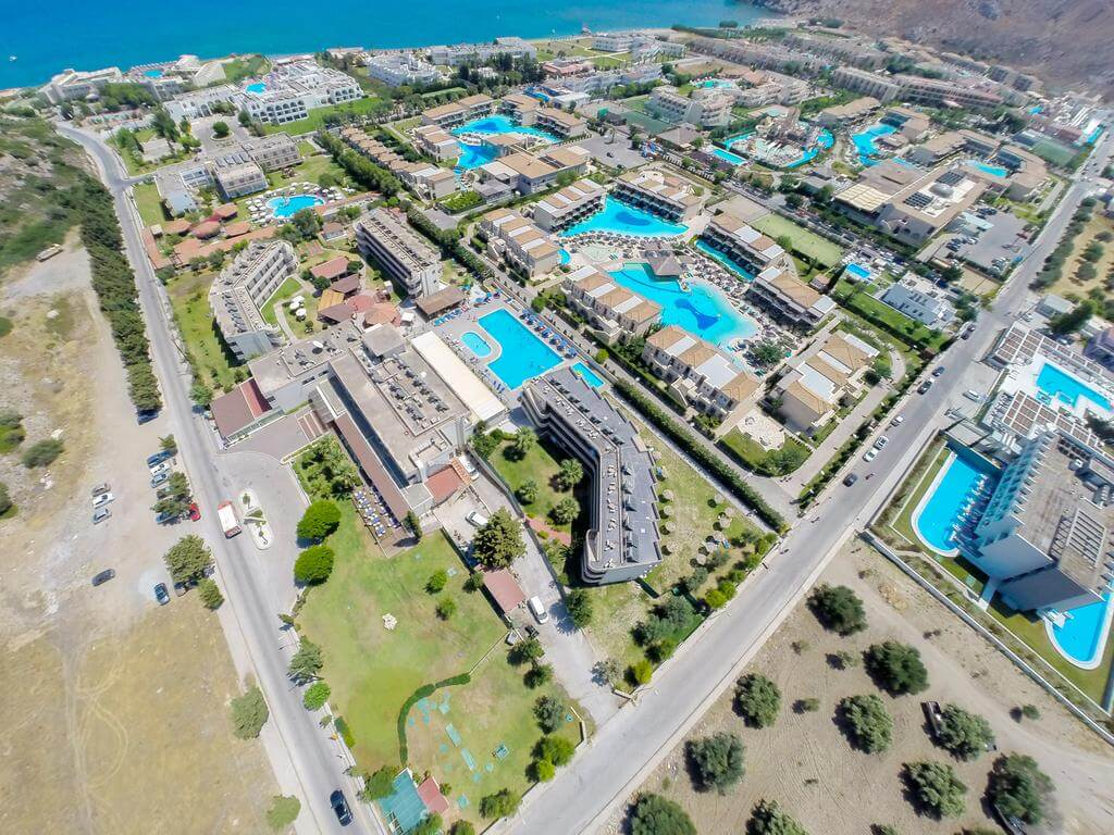 Delfinia Resort, Rhodes Island, Greece