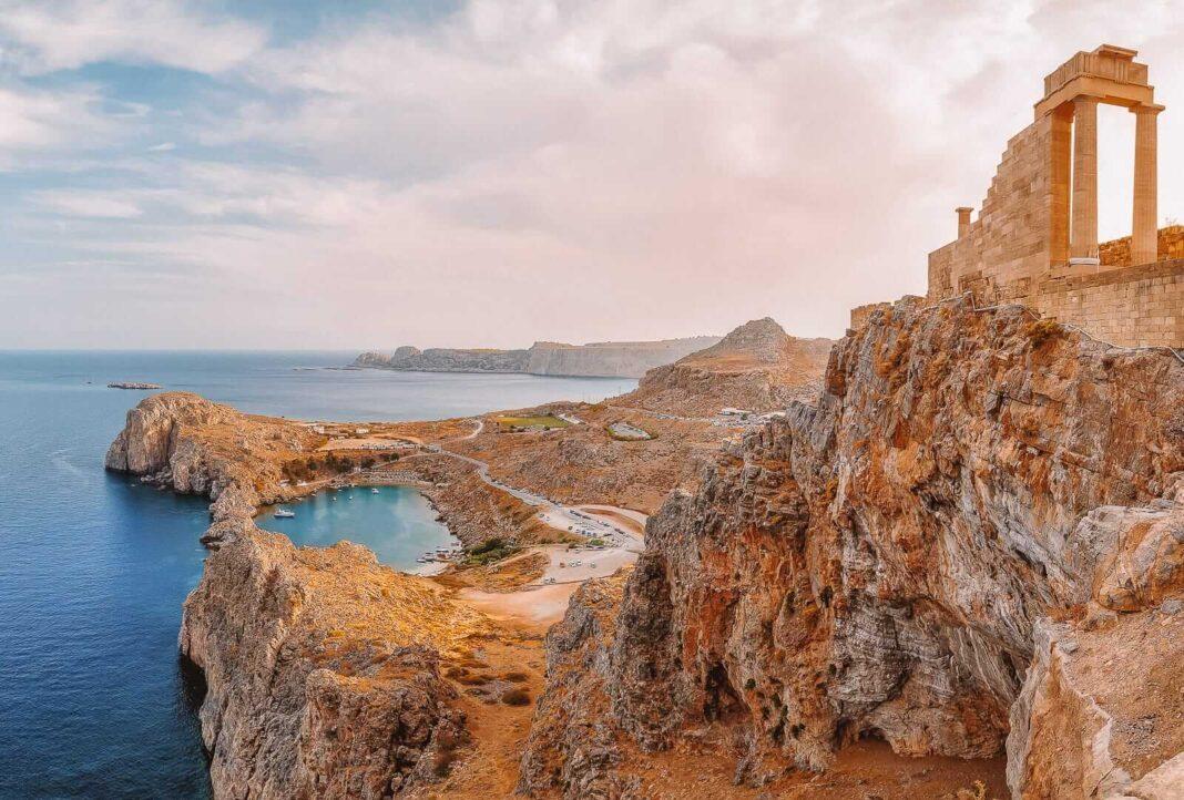 Where is Rhodes island, Greece?