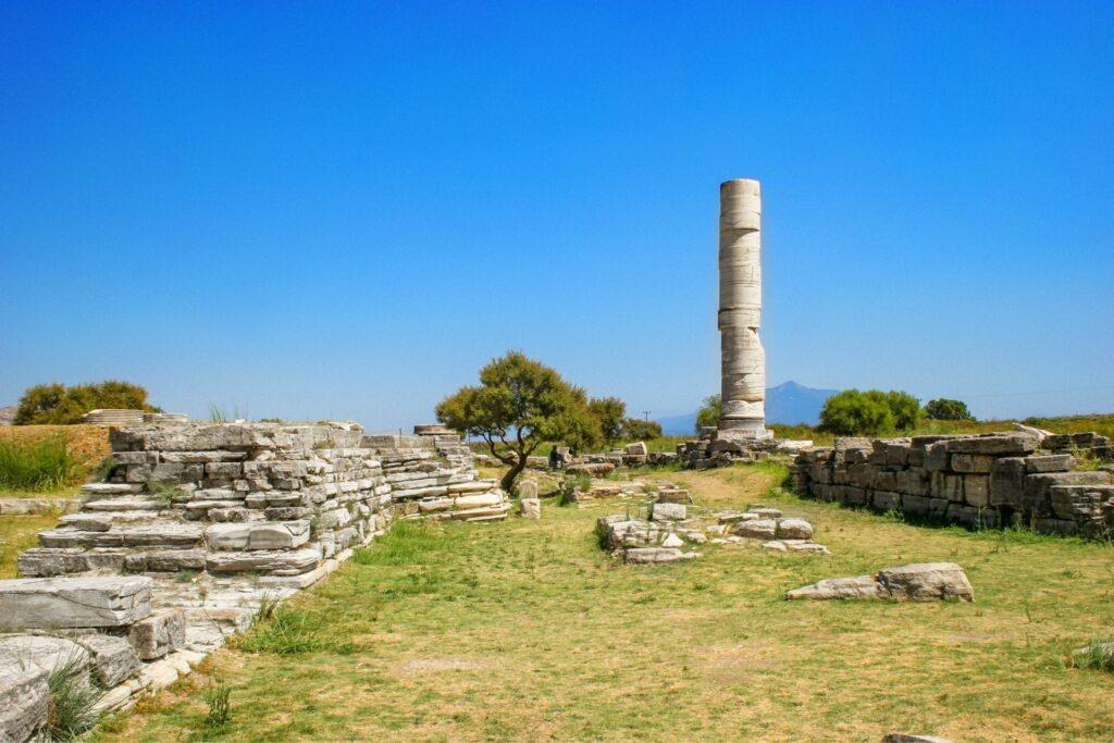 History of Samos Island