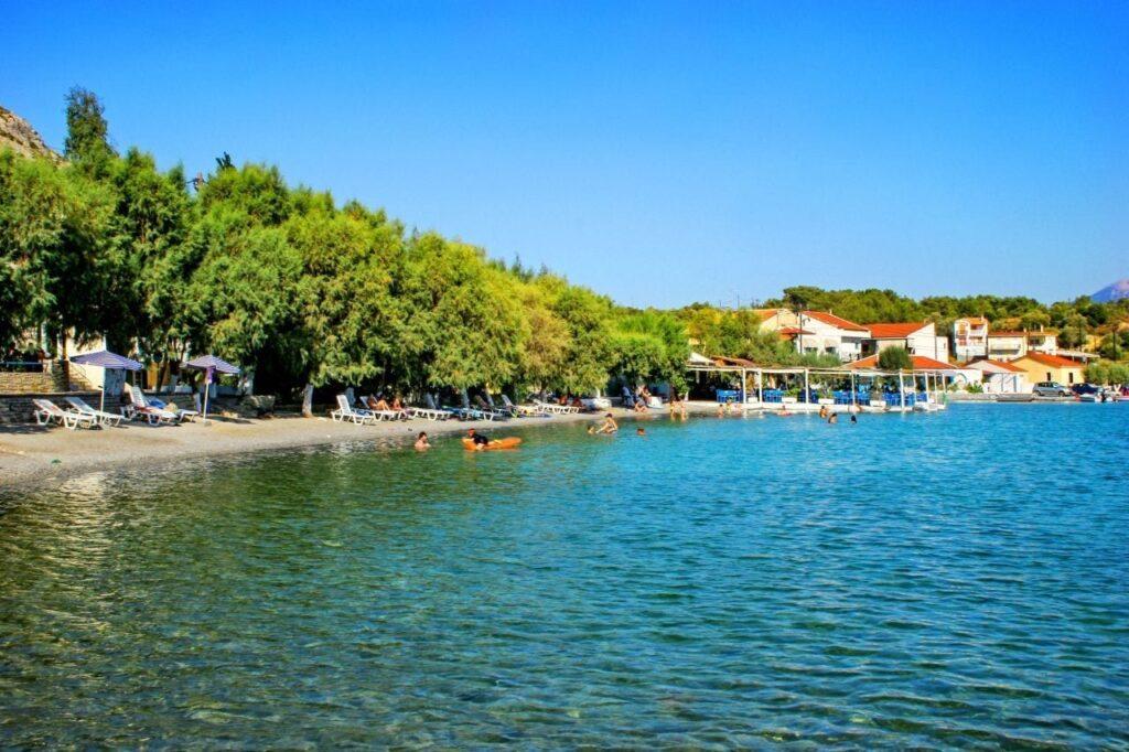 Posidonio beach