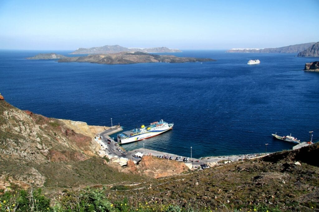 Port of Athinios, Santorini