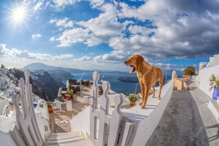 Santorini adası, Yunanistan
