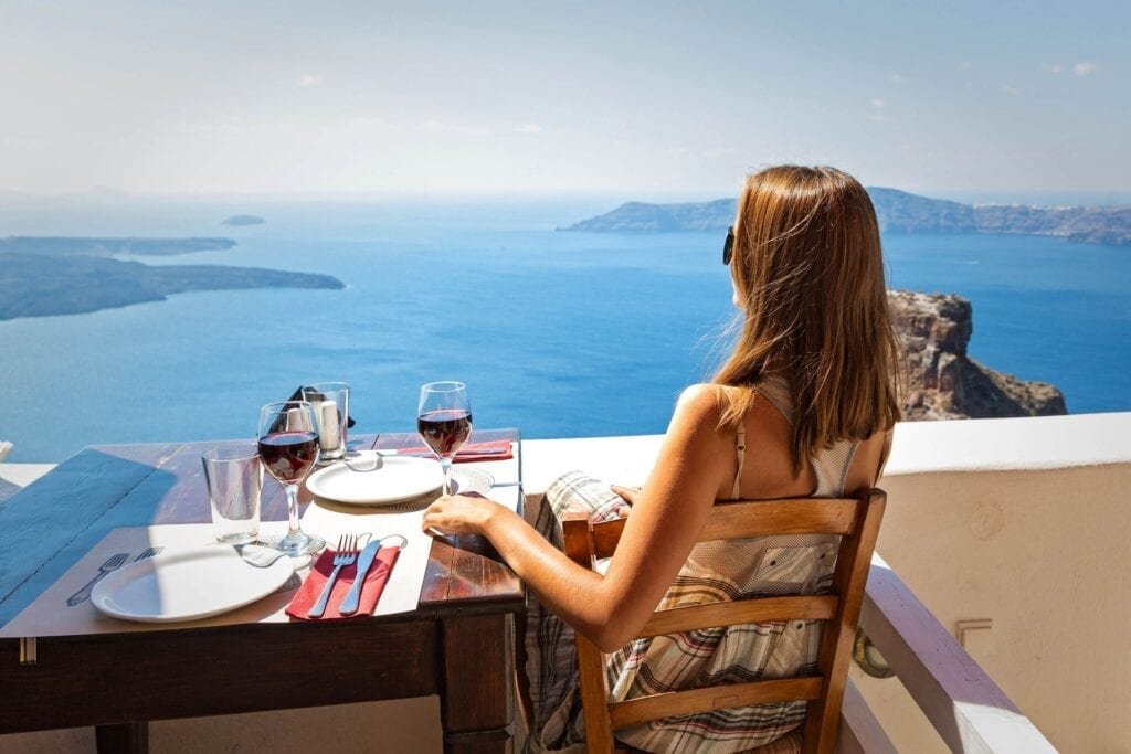 Eat & Drink Places in Santorini