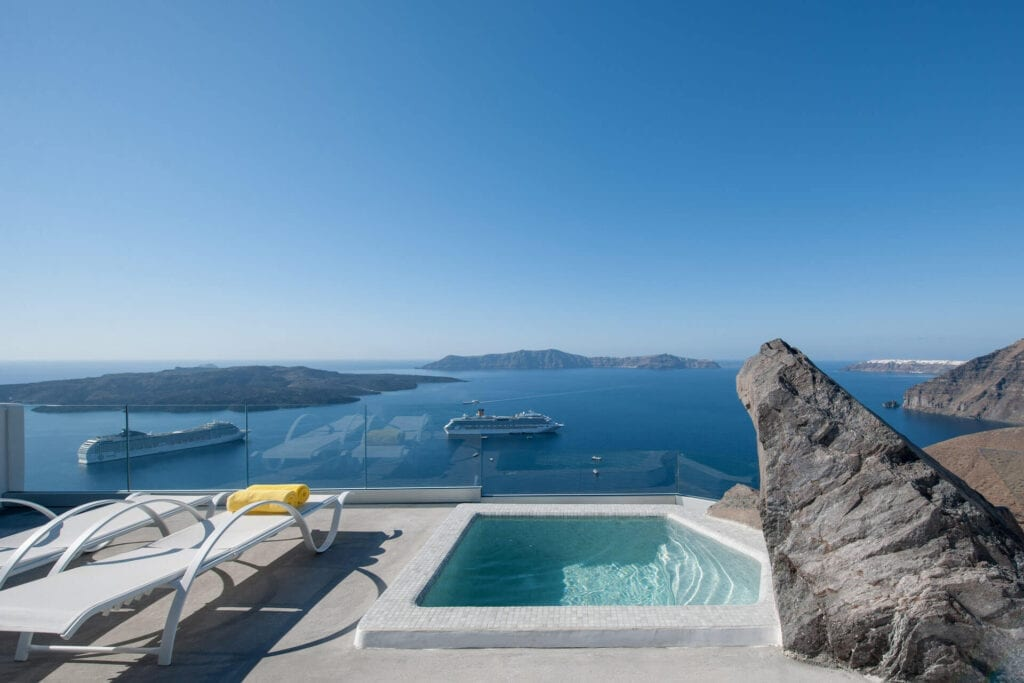 Hotel Keti in Fira of Santorini island