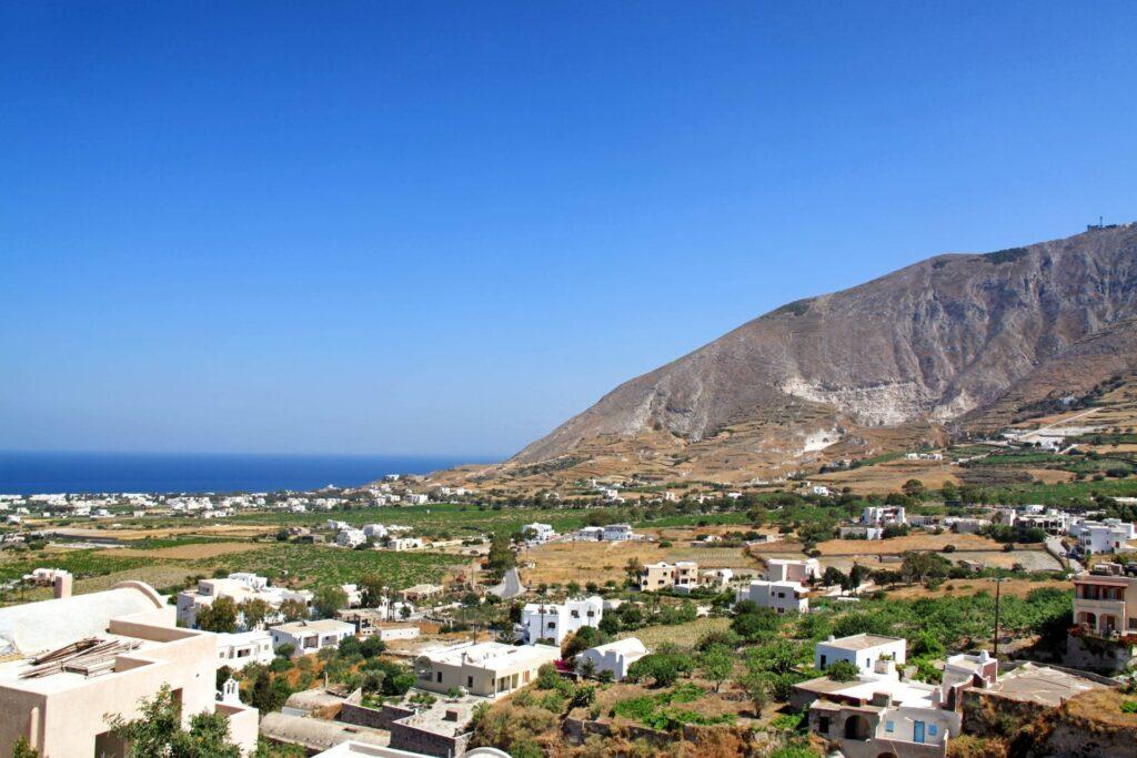 Villages in Santorini