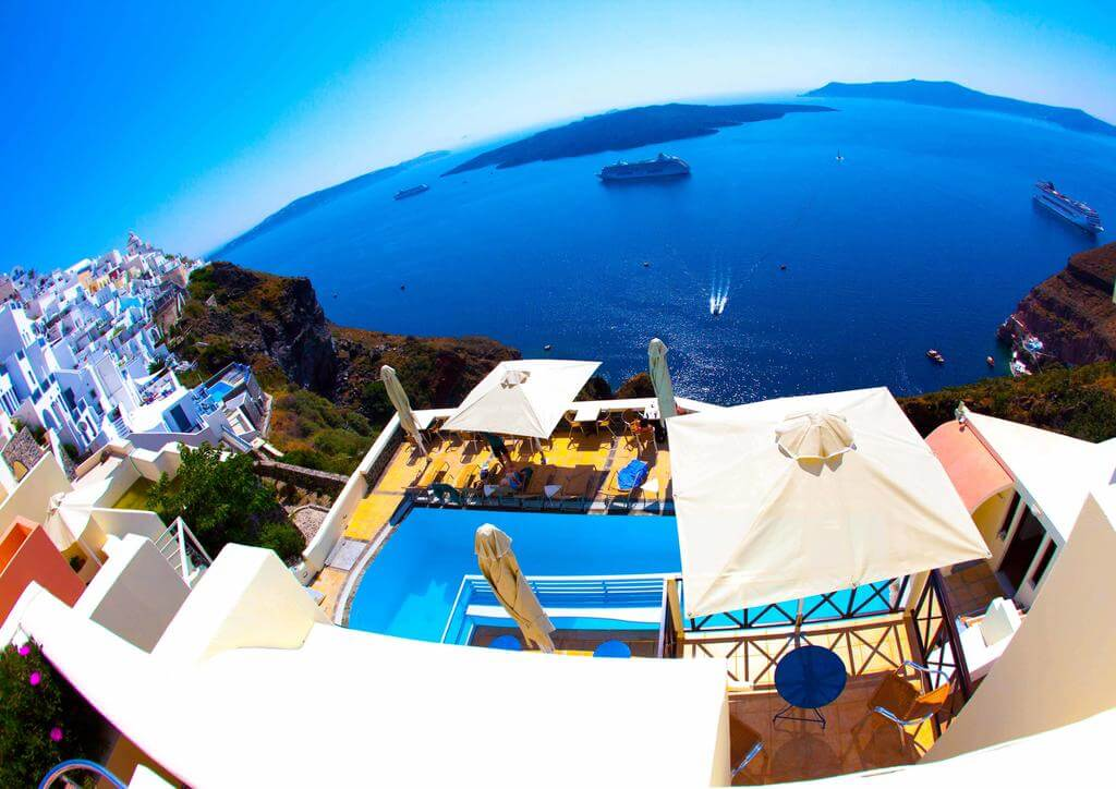Panorama Boutique Hotel, Santorini, Greece
