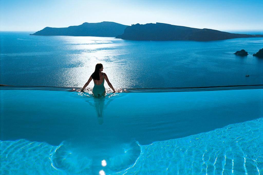 Perivolas Hotel, Santorini, Yunanistan