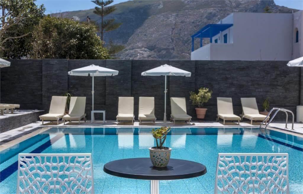 Santellini Hotel, Kamari, Santorini, Yunanistan