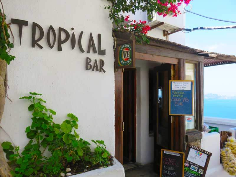 Santorini Tropical Bar
