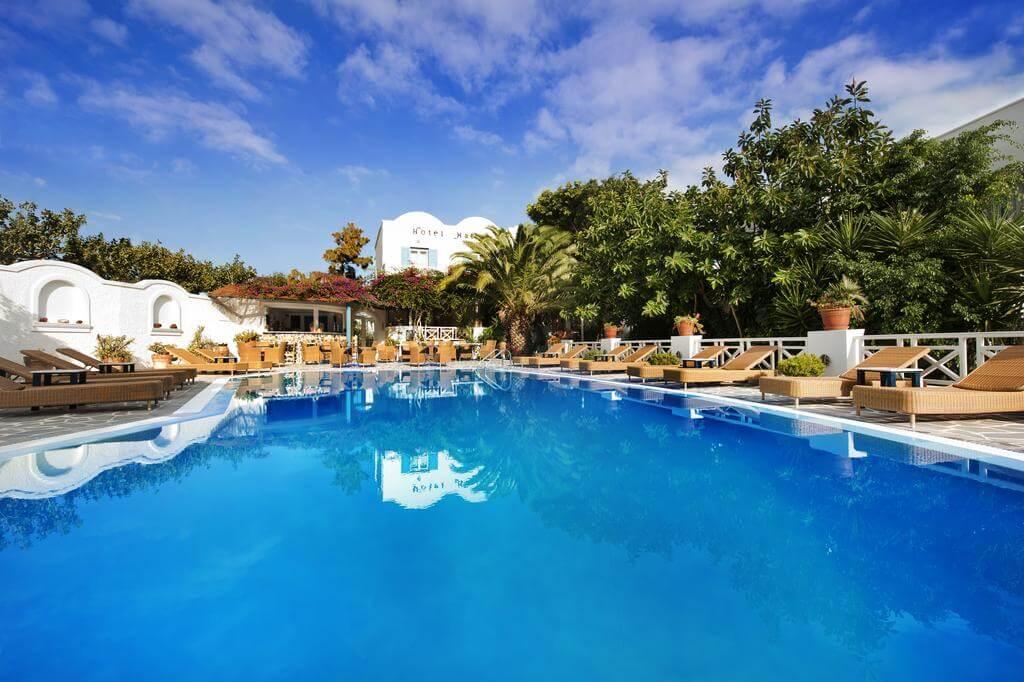Hotel Matina in Kamari Beach Santorini
