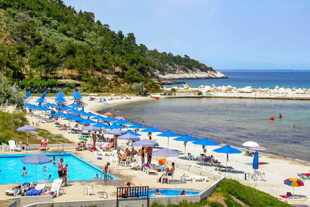 Makriamos Beach, Thassos, Greece