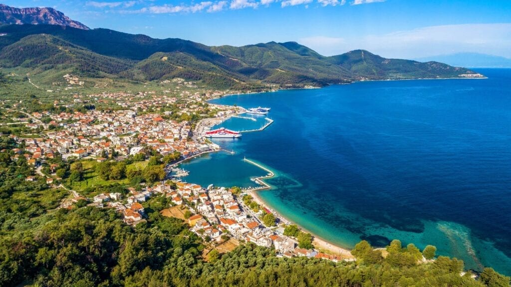 How to get to Thassos
