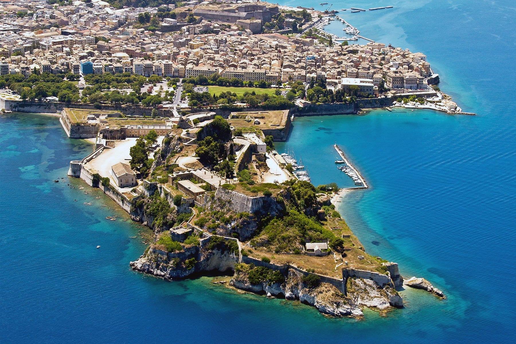 Corfu Travel Old Town Corfu, Greece