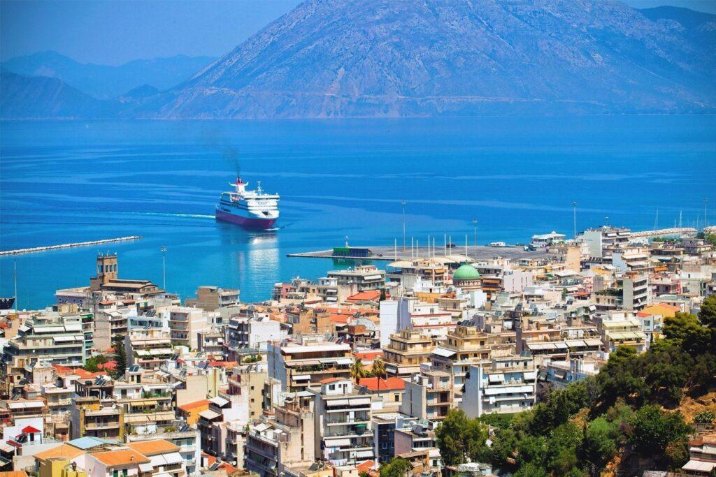 Port of Patras, Greece