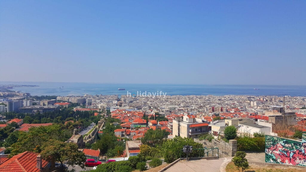 View of Thessaloniki, Greece
