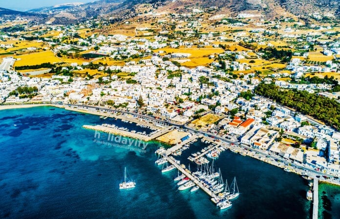 Paros Harbour